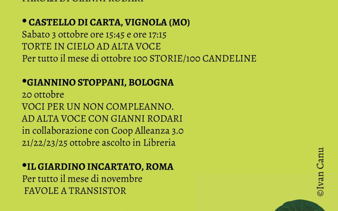 Viaggio in Italia con Gianni Rodari